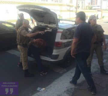 Assaltante é preso em flagrante em Criciúma