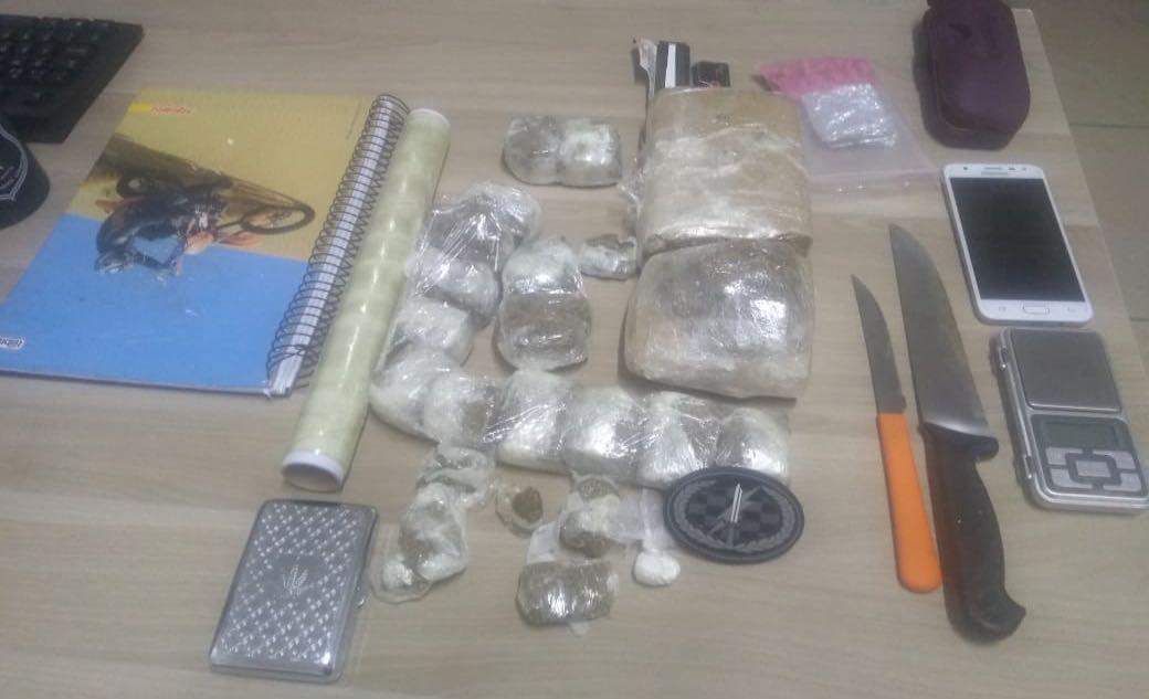Traficantes são presos e cerca de 2kg de drogas são apreendidos em Criciúma