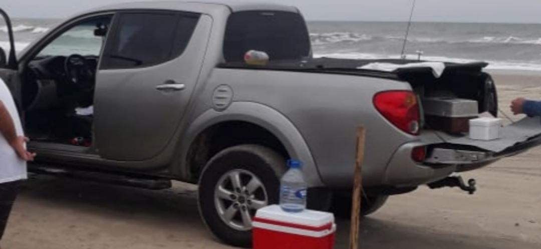 Caminhoneta de pai de policial é furtada em Araranguá