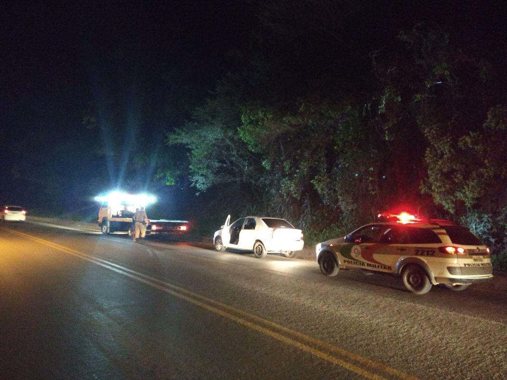 Polícia Militar recupera veículo roubado