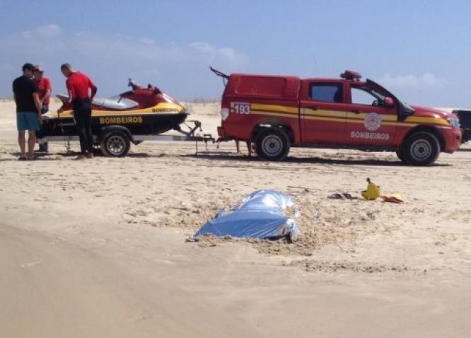 Corpo é encontrado em praia de Laguna