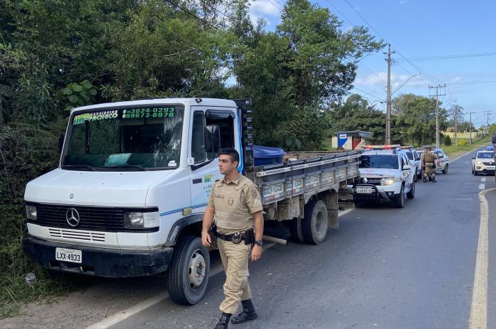 Polícia Militar prende criminoso e recupera veículo furtado em Criciúma