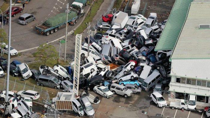 Japão: tufão deixa rastro de destruição, mortos e feridos