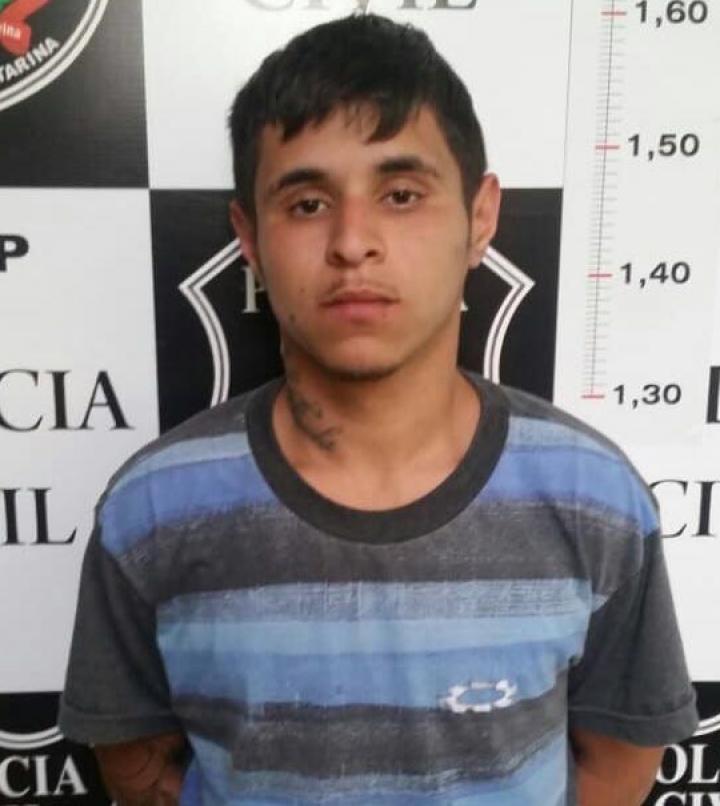 Integrante de facção criminosa é preso em Criciúma