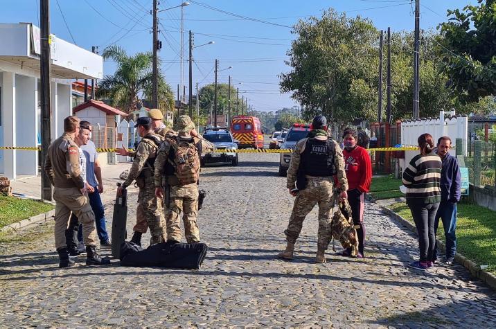 Após mais de 10h de negociações, sequestrador é neutralizado em Balneário Gaivota