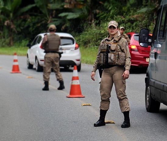 Polícia Militar prende estuprador durante blitz em Criciúma