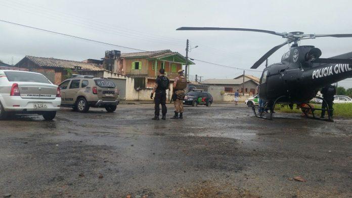 Bandidos são presos em Criciúma