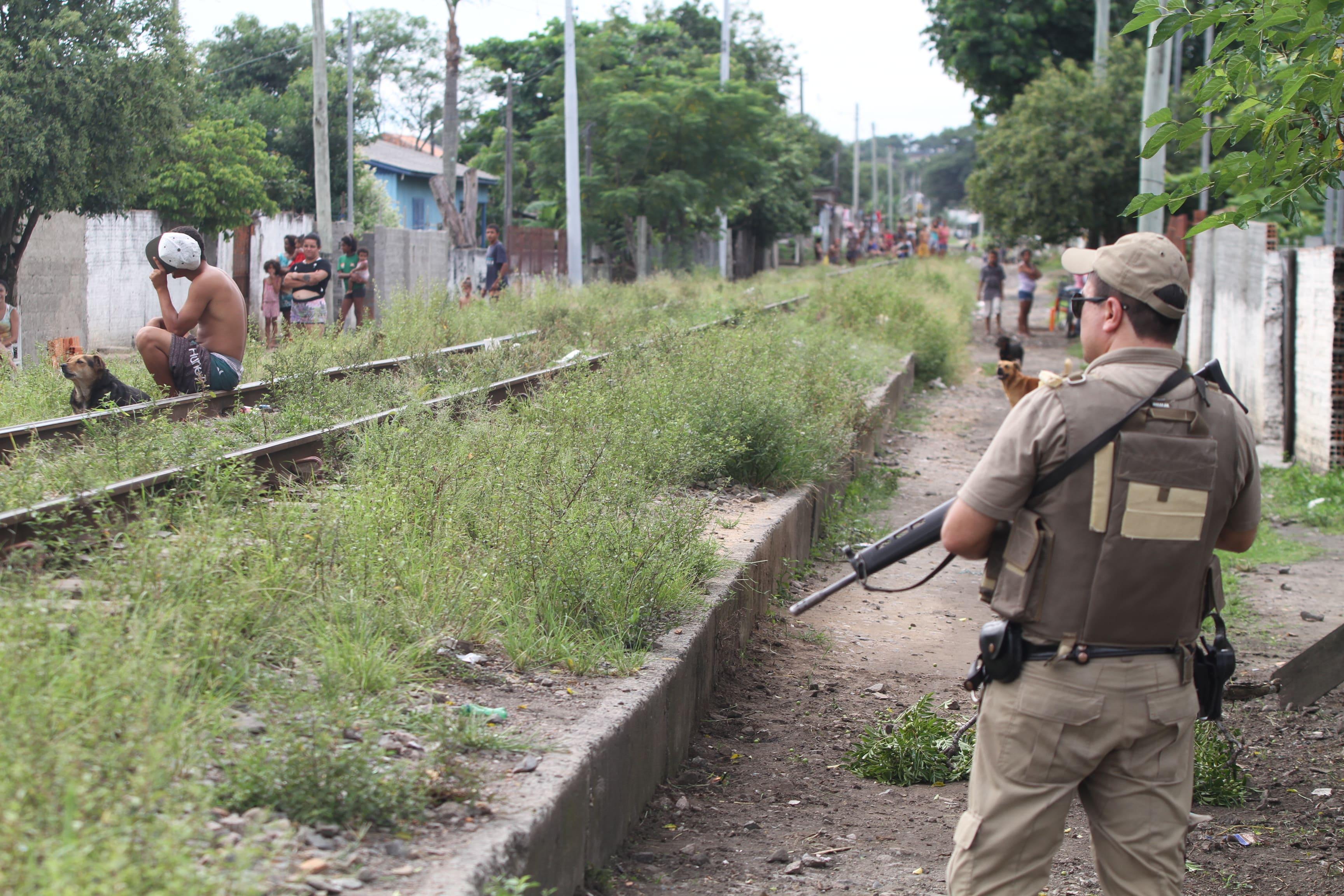 Bandido morre após troca de tiros com a Polícia Militar em Criciúma