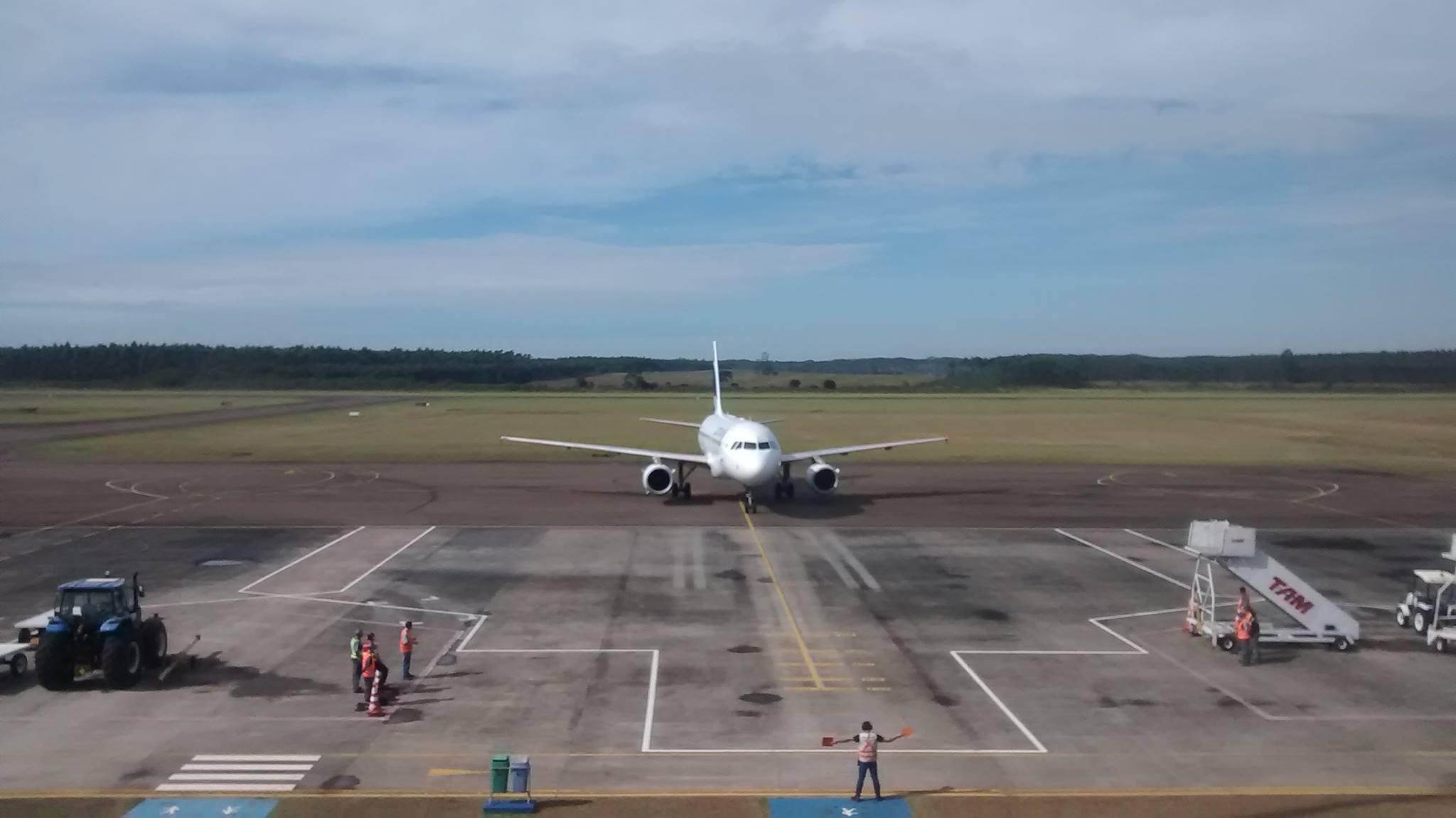 Uma nova companhia aérea poderá atuar no Aeroporto Regional de Jaguaruna
