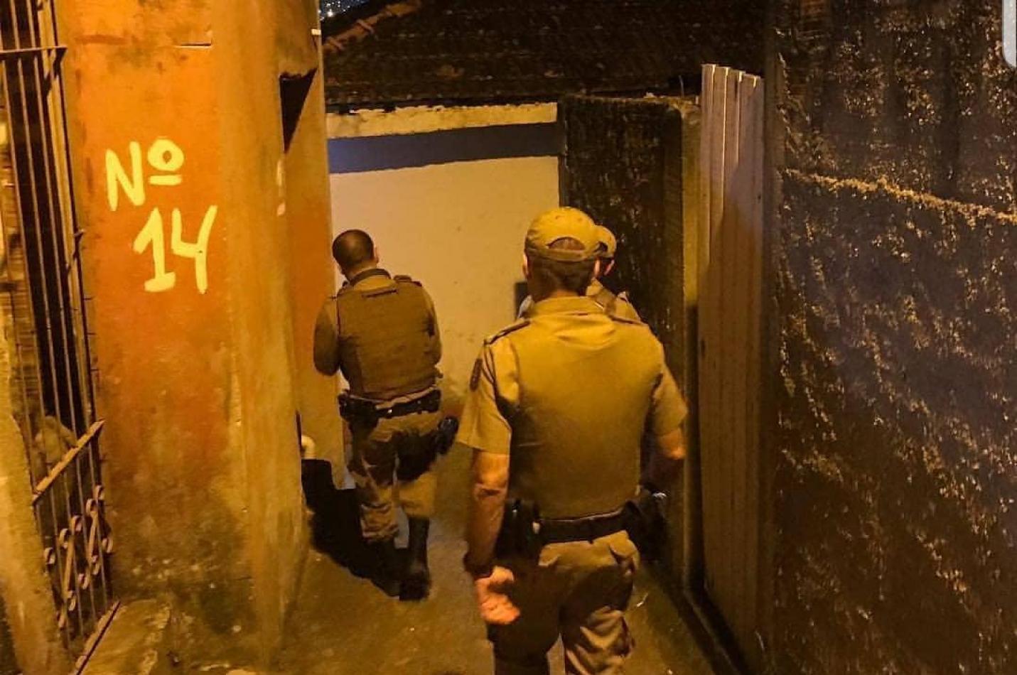 Bandido é morto a tiros no bairro Cristo Redentor em Criciúma