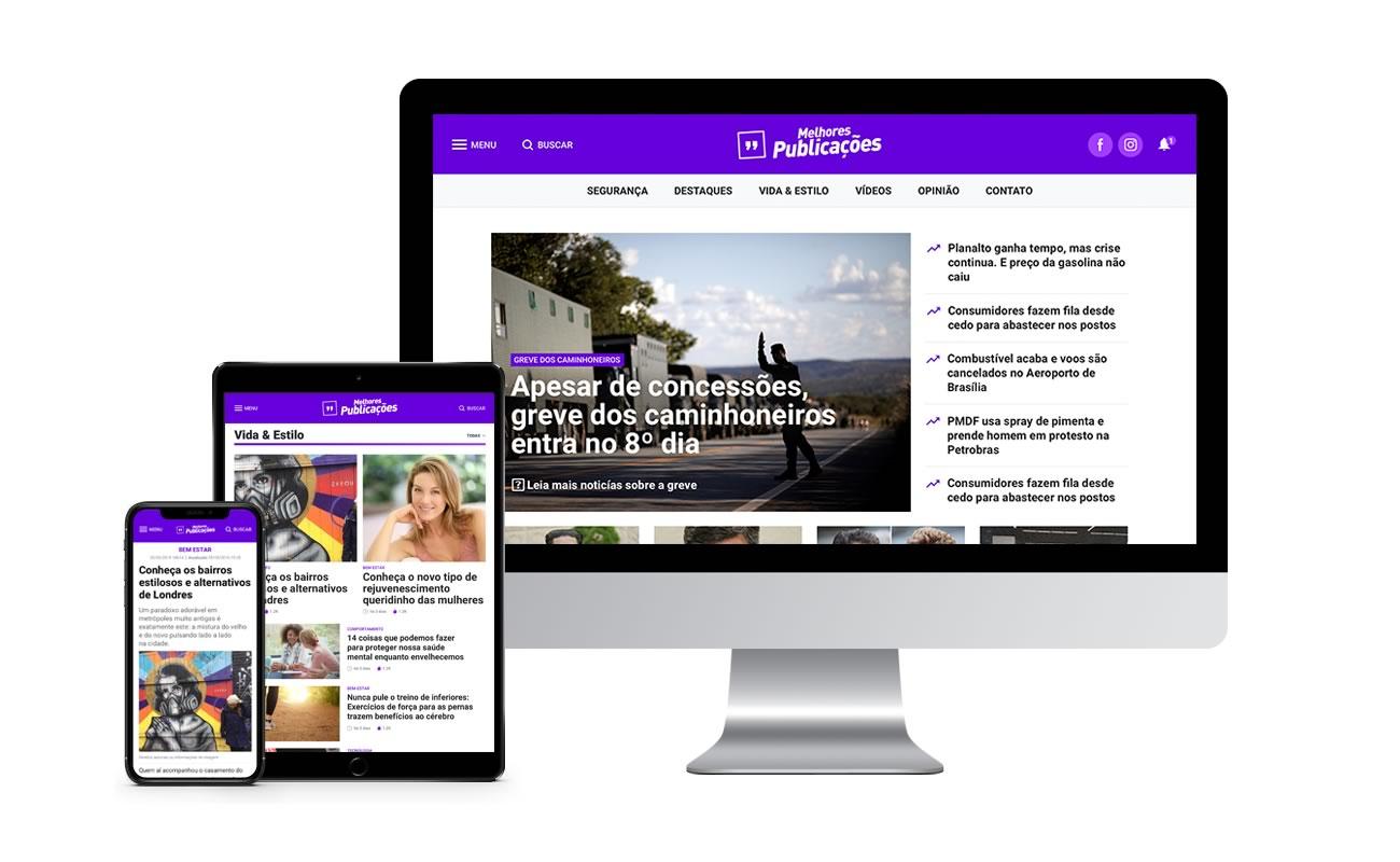 Bem vindos ao novo Portal Melhores Publicações