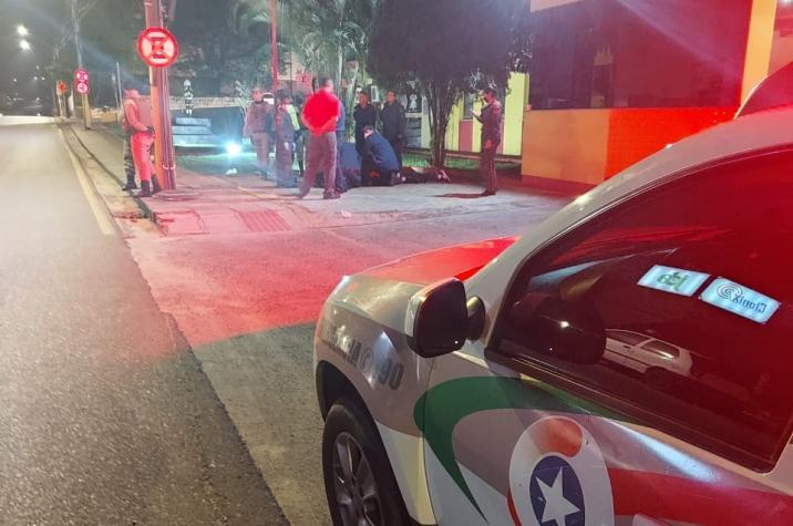 Bombeiros e policiais evitam suicídio em Criciúma