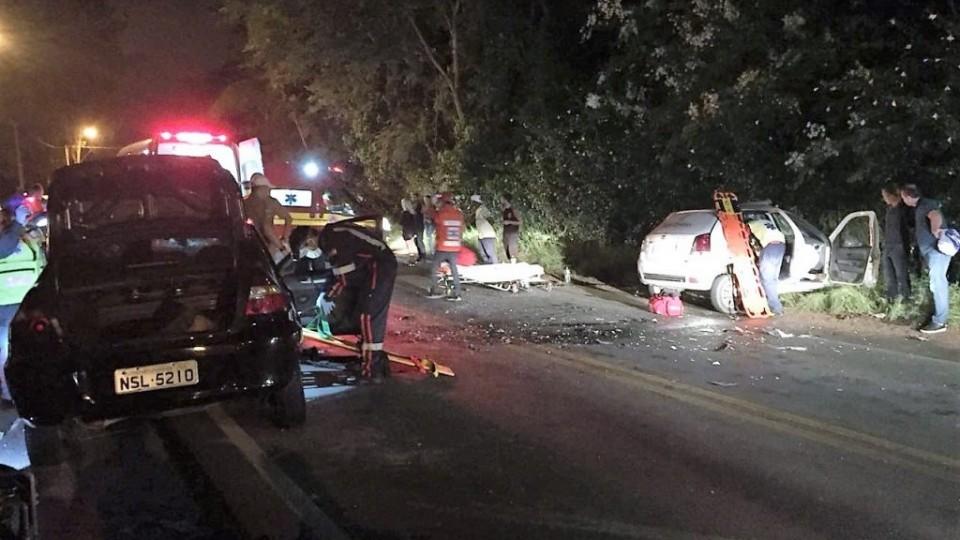 Acidente deixa duas pessoas em estado grave, em Cocal do Sul