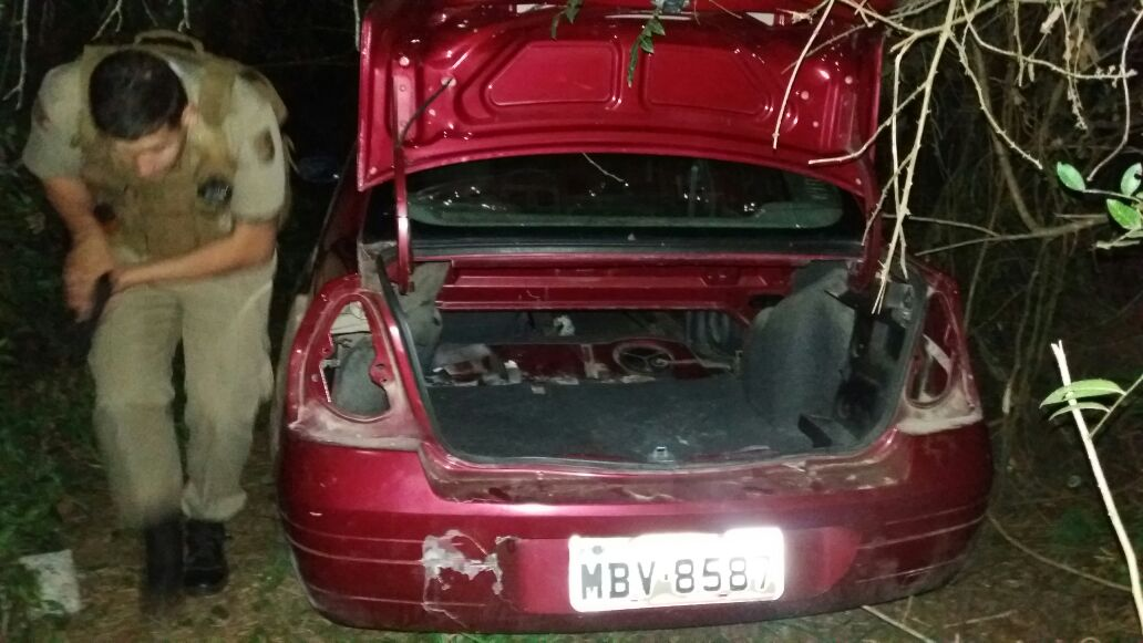 PM recupera veículo furtado