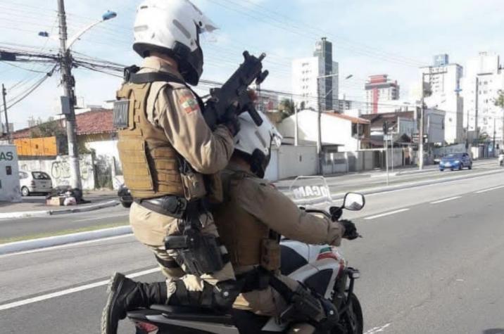 Bandidos invadem residência e amarram vítima em Criciúma