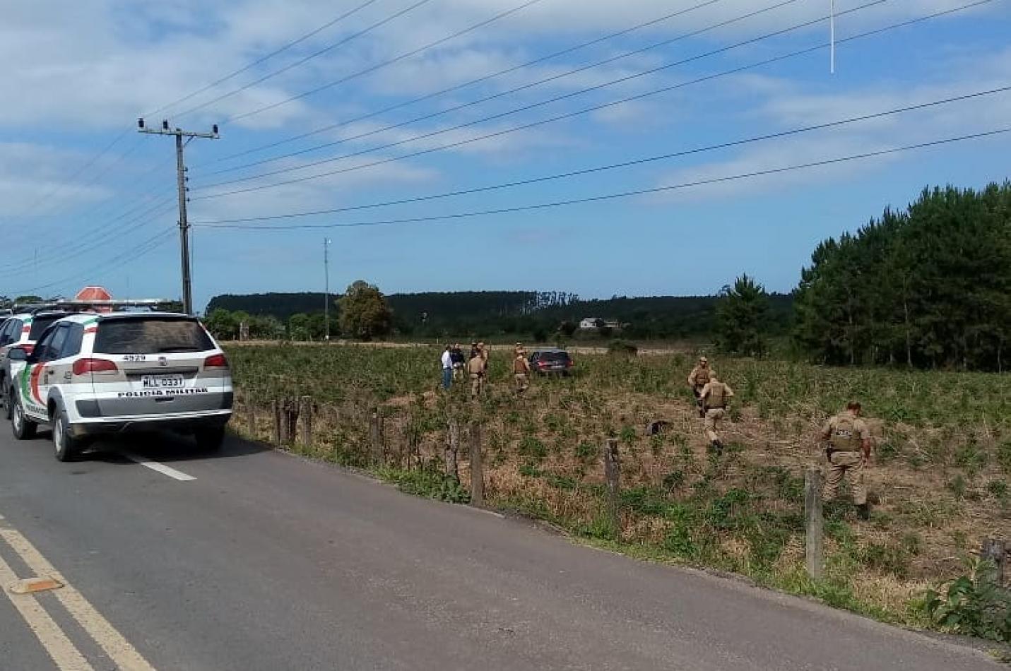 Homem é executado a tiros às margens da BR-101 em Araranguá