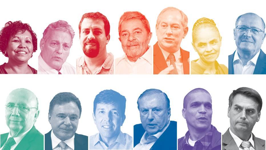 Bolsonaro mantém liderança; Ciro sobe e empata com Marina, diz Ibope