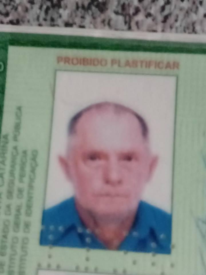 Familiares procuram por idoso desaparecido em Criciúma