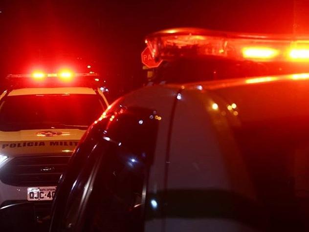 Bandidos tomam veículo de assalto na divisa de Içara com Criciúma