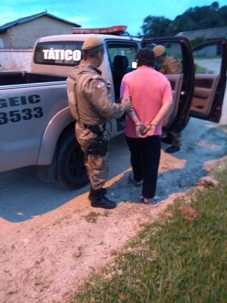 Estuprador é preso pela Polícia Militar