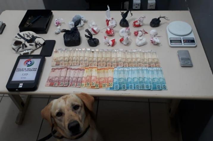 Polícia Militar prende mais um traficante em Criciúma