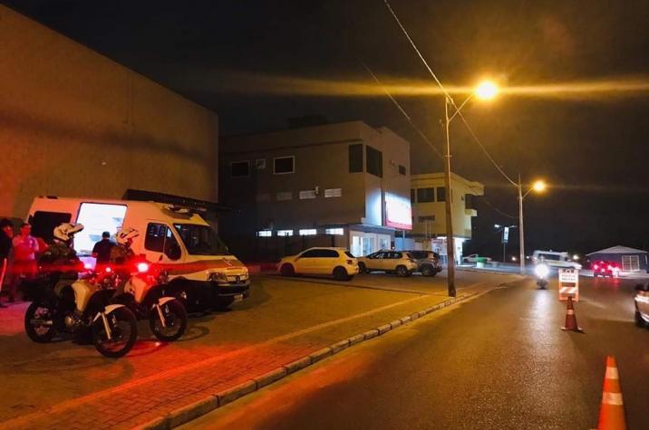 Estuprador é preso pela Polícia Militar durante blitz em Criciúma