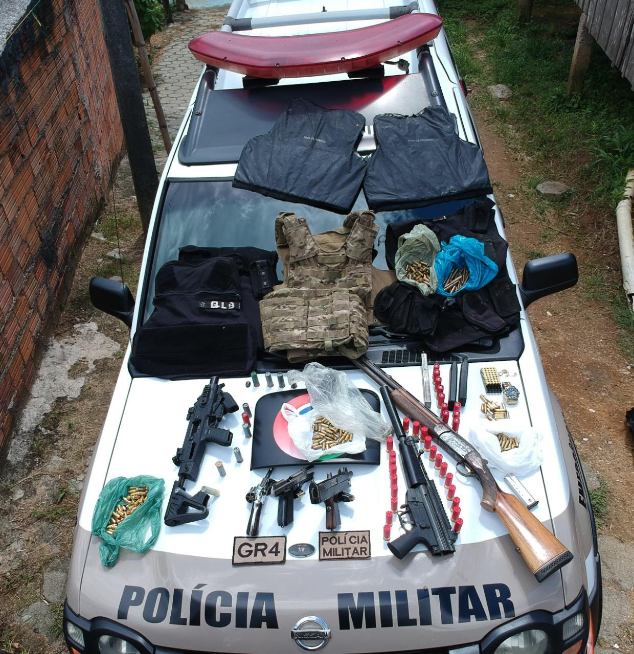 Bandido é morto em confronto com a Polícia Militar