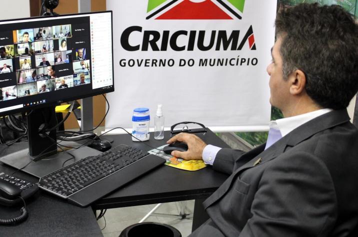 Salvaro diz que Criciúma está preparada para receber as vacinas contra a Covid-19