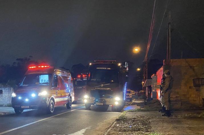 Pai mata filha e põe fogo em residência no bairro Imperatriz, em Criciúma